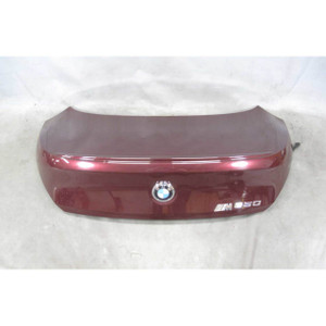 2004-2007 BMW E63 6-Series Coupe Rear Trunk Deck Boot Lid Barbera Red OEM - 19609