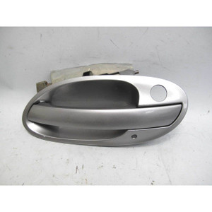 2002-2005 BMW E65 7-Series Left Front Exterior Outside Door Handle Sterling Grey - 19651