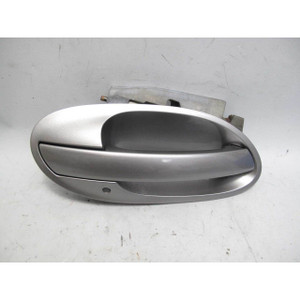 2002-2005 BMW E65 7-Series Right Exterior Outside Door Handle Sterling Grey OEM - 19652