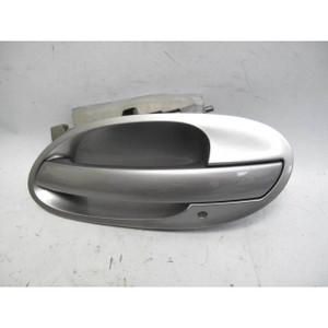 2002-2005 BMW E65 7-Series Left Rear Exterior Outside Door Handle Sterling Grey - 19653