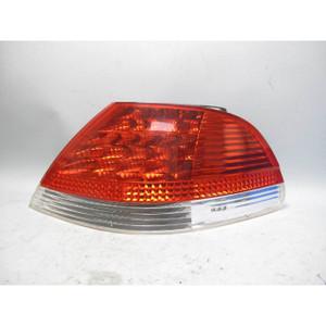 2002-2005 BMW E65 E66 7-Series Right Rear Outer Tail Light Lamp White Lens OEM - 19655