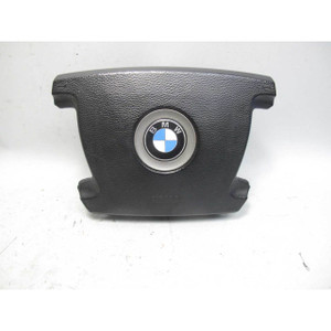 2002-2005 BMW E65 E66 7-Series Early Steering Wheel Airbag Black OEM - 19656