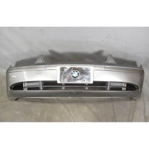 2002-2005 BMW E65 E66 7-Series Factory Rear Bumper Cover Trim Sterling Grey OEM - 19724