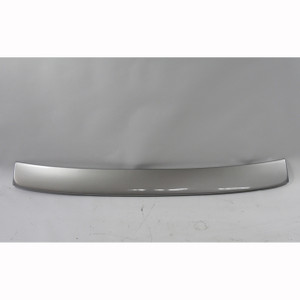 BMW E65 E66 7-Series Top Rear Roof Window Spoiler Trim Painted Sterling Grey - 19729