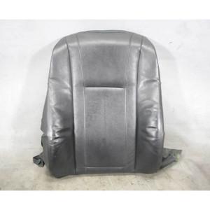 2002-2008 BMW E65 E66 7-Series Front Comfort Seat Backrest Black Leather OEM - 19749