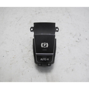 2009-2014 BMW F07 5-Series F01 Eletric Parking Brakie Actuator Switch Console OE - 19778