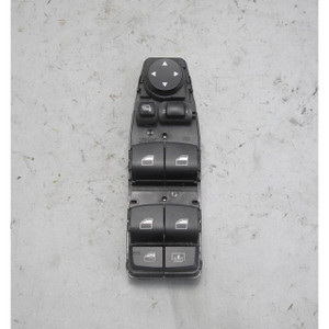 2010-2012 BMW F07 F10 5-Series Left Front Driver Master Window Switch Power Fold - 19782