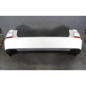 2010-2012 BMW F07 5-Series Gran Turismo GT Rear Bumper Cover Trim White PDC - 19798