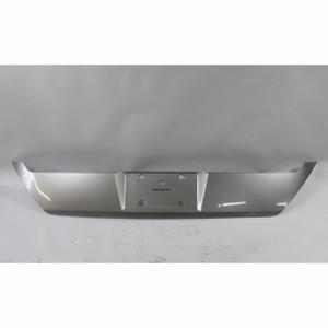 BMW E65 E66 2002-2005 Sterling Grey Rear License Plate Holder Trunk Trim Panel - 19807
