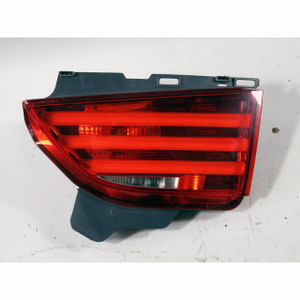 2010-2013 BMW F07 5-Series GT Right Passengers Inner Trunk Lid LED Taillight OEM - 19811
