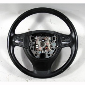 BMW F10 5-Series F01 7-Series Standard Multifunction Steering Wheel Heated OEM - 19820