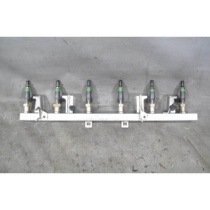 2003-2006 BMW E46 325i SULEV M56 2.5L Fuel Delivery Injection Rail w Injectors - 20067