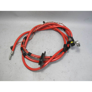 2003-2005 BMW E46 325i SULEV Sedan M56 Positive Red Battery Cable w Terminal OEM - 20074