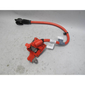 2010-2017 BMW 5-Series 6-Series Positive Red Battery Cable Terminal Fuse OEM F10 - 20111