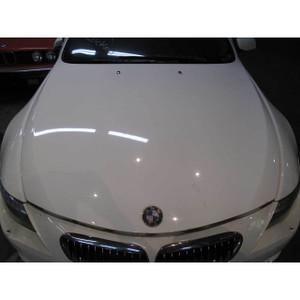 2004-2010 BMW E63 E64 6-Series Front Engine Hood Bonnet Cover Panel Alpine White - 20175