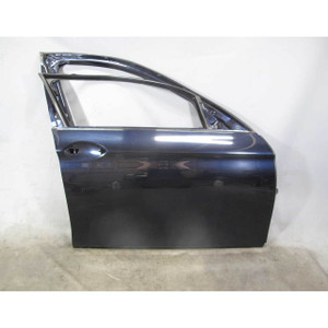 BMW F10 5-Series Sedan Right Front Passenger Door Shell Panel Imperial Blue USED - 20189
