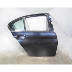 2011-2016 BMW F10 5-Series Right rear Passenger's Door Shell Panel Carbon Black - 20190