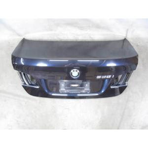2011-2016 BMW F10 5-Series Rear Trunk Deck Boot Lid Carbon Black Panel OEM - 20196