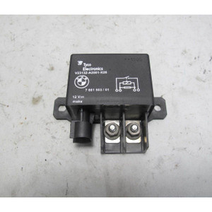 06-17 BMW 3-Series 5-Series Engine Cooling Fan Relay 150A E90 F10 F30 2nd Batter - 20236