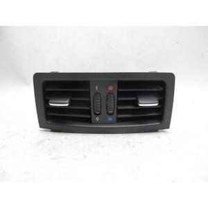 2005-2007 BMW E60 5-Series E61 Rear Center Console Air Outlet Vent Black OEM - 20245