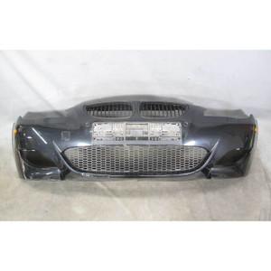 2008-2010 BMW E60 M5 ///M PDC Front Bumper Cover Trim Black Sapphire w Grilles - 20296