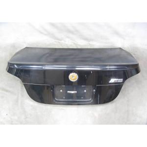 2004-2007 BMW E60 5-Series Rear Trunk Deck Boot Lid Black Sapphire w Spoiler OEM - 20301