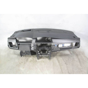 2008-2010 BMW E60 5-Series E61 Leather-Wrapper Dashboard Tirm Panel Black OEM - 20312
