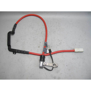 2006-2010 BMW E60 M5 Trunk Positive Battery Cable Terminal Red S85 OEM - 20319