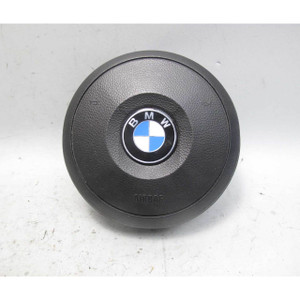 BMW E60 5-Series E63 Factory M Sports Steering Wheel Round Airbag 2006-2010 OEM - 20337