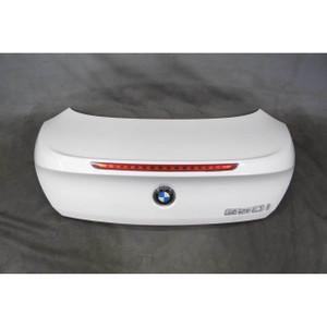 BMW E63 6-Series Coupe Facelift Rear Trunk Deck Lid Panel Alpine White 2008-2010 - 20352