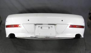 2008-2010 BMW E63 E64 650i Factory Rear Bumper Cover Trim PDC Alpine White OEM - 20390