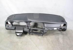 2011-2016 BMW F10 5-Series Sedan Front Dashboard Dash Trim Panel Black OEM - 20391