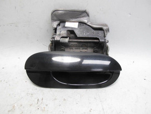 1999-2001 BMW E38 7-Series Right Exterior Outside Door Handle Black 2 OE Lit - 20413