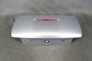 1996-1999 BMW Z3 Roadster Rear Trunk Deck Boot Lid Arctic Silver w 3rd Stop OEM - 20441