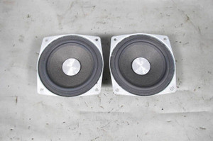 BMW E39 5-Series Factory DSP Rear Tray Subwoofer Speaker Driver Pair 1997-2003 - 10894