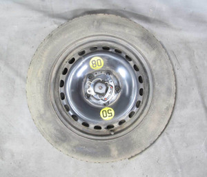 """1995-2000 BMW E36 3-Series 15"""" Compact Emergency Spare Wheel and Tire w Z3 Tray - 20491"""