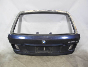 BMW E46 3-Series Touring Wagon Rear Trunk Lid Door Lift Gate Blue 2000-2005 OEM - 20492