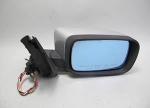 1998-2003 BMW E39 5-Series Right Outside Side Mirror Titan Silver Memory OEM - 20557