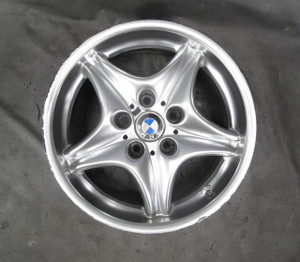 """BMW Z3 M ///M Roadster Coupe Front 17"""" Factory Style 40 Alloy Wheel 5-Spoke USED - 20569"""