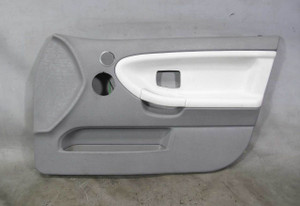 1992-1993 BMW E36 3-Series Sedan Right Front Inteior Door Panel Trim Silver-Grey - 20582