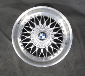 "BMW E39 5-Series Factory 17"" 2-Piece BBS Style 5 Basketweave Wheel OEM - 20585"