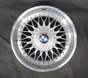 "BMW E39 5-Series Factory 17"" 2-Piece BBS Style 5 Basketweave Wheel OEM - 20586"