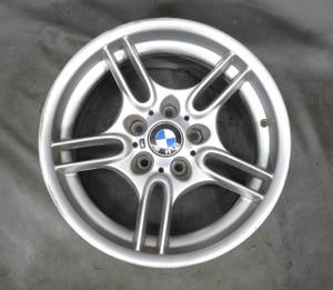 """1997-2003 BMW E39 5-Series 17"""" ///M Parallel Spoke Style 66 Front Wheel 17x8 - 20595"""