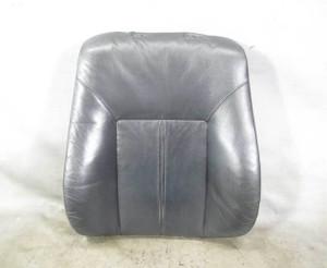 1999-2003 BMW E39 5-Series E38 Front Basic Seat Backrest Pad Black Leather Heat - 20597
