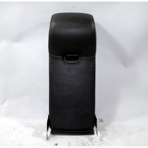2006-2010 BMW E60 M5 Black Leather Rear Seat Center Armrest Cup Holder OEM - 20614