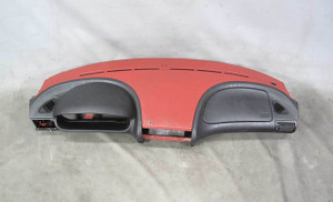 1998-2002 BMW Z3 Roadster Coupe Interior Dash Dashboard Panel Imola Red OEM - 20644