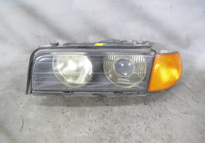 1995-1997 BMW E38 7-Series Early Left Front Xenon Headlight Lamp Glass Lens OEM - 20679