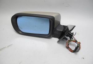 1995-2001 BMW E38 7-Series Left Drivers Outside Side Mirror Beige High Gloss OEM - 20682
