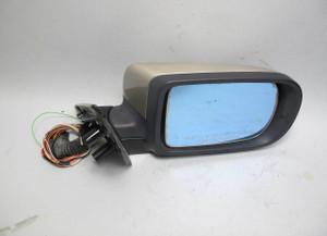 95-01 BMW E38 7-Series Right Passenger Outside Side Mirror Beige High Gloss OEM - 20683