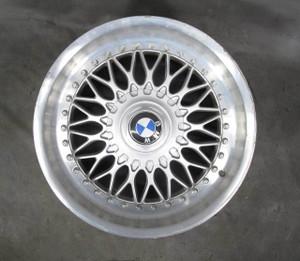 "BMW E39 5-Series Factory 17"" 2-Piece BBS Style 5 Basketweave Wheel OEM - 20696"